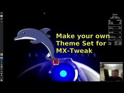 Make your own Theme Set for MX-Tweak