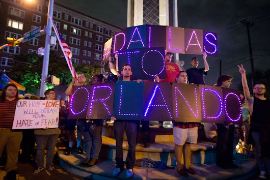 "Dallas LGBT Community to Orlando: ""We Are With You!"""
