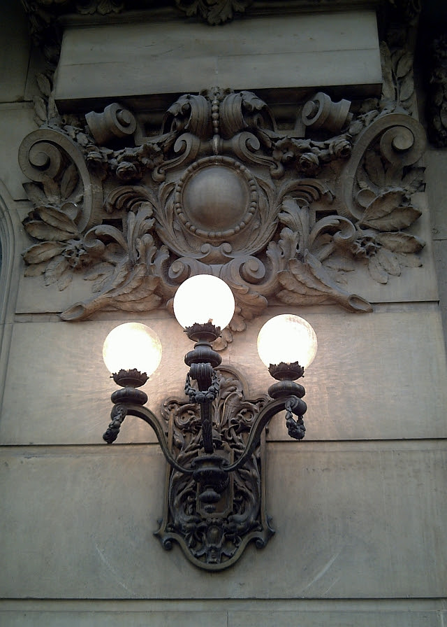 Wall Lamp at Paseo de Gracia in Barcelona