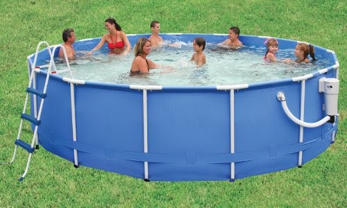 Summer escapes pro series 16 foot by 48 inch frame pool - Pro series frame pool ...