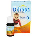 Ddrops Liquid Vitamin D3 400 Iu Drops For Infants - 0.08 Oz, 90 Drops