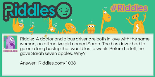 A Doctor And A Bus Driver In Love - Riddles.com