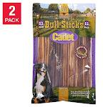 "Cadet 12"" Bully Sticks 12-count, 2-pack"