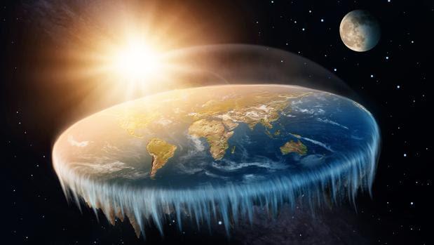 Recreación de la Tierra plana