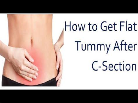 flat tummy   section    flat
