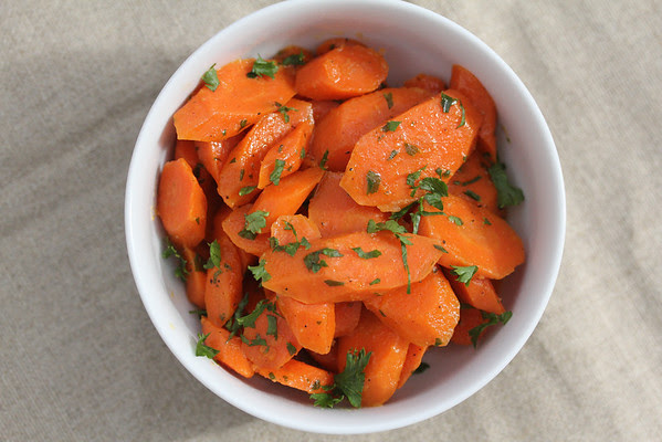sauteed carrots and 20 Thanksgiving Day Recipes and a Bonus Turkey Leftover Recipe