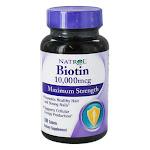 Natrol Biotin 10,0000Mcg Tablets, Maximum Strength - 100 Ea