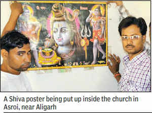 Church turned into 'temple' after 72 Valmikis reconvert to Hinduism