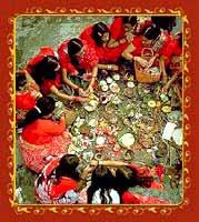 Karwa Chauth Puja Process