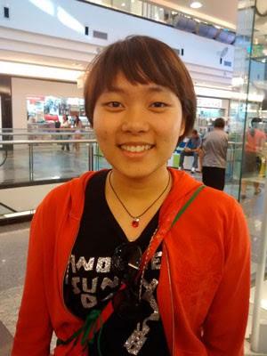 A estudante Tina Pan (Foto: Isabella Calzolari/ G1)