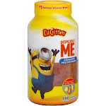 Lil Critters Complete Multivitamin Gummies, Despicable Me Minion Made, 190 ct