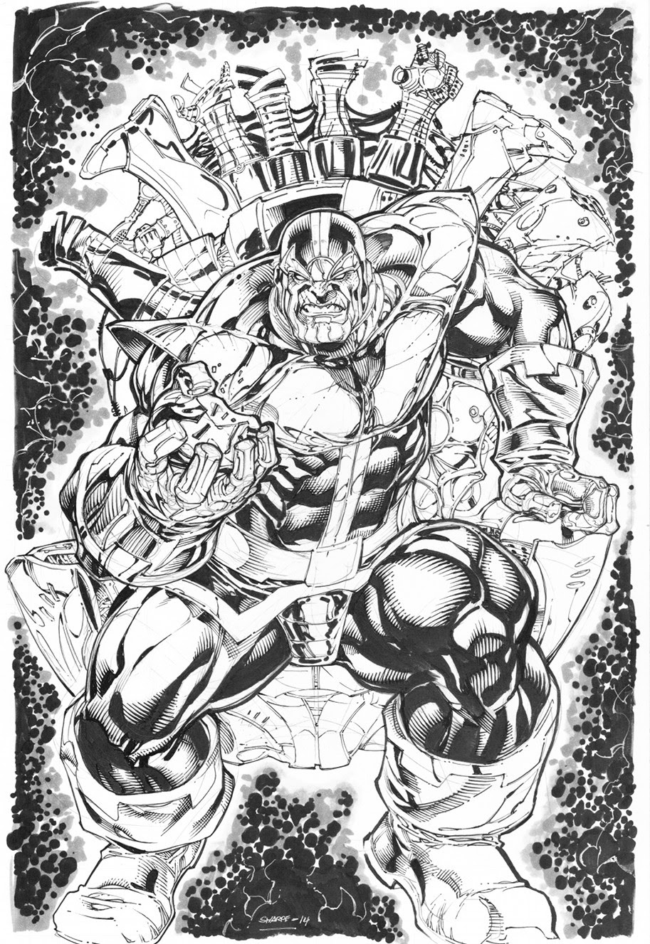 Thanos commission by Kevin-Sharpe on DeviantArt