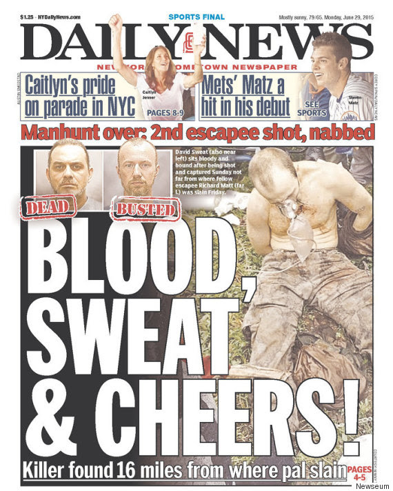 New York Post, Daily News Have Identical Front Page Headlines For ...