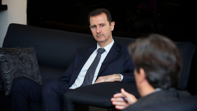 Bachar el-Assad, ce lundi 2 septembre.