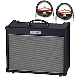 Boss Nextone Stage Guitar Amplifier with 2 - 10' Instrument Cables