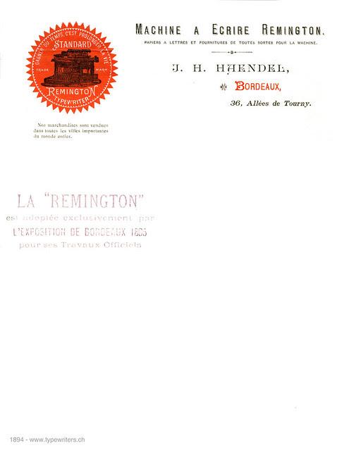 letterhead_Remington_1894
