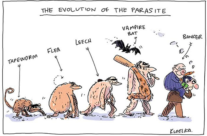 The Evolution Of The Parasite
