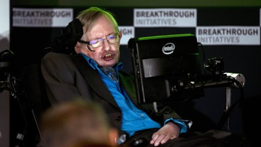 Stephen Hawking launches $100m search for alien life beyond solar system | Science | The Guardian