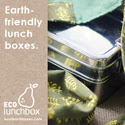 ECOlunchbox: Earth-friendly stainless steel bento lunch boxes.