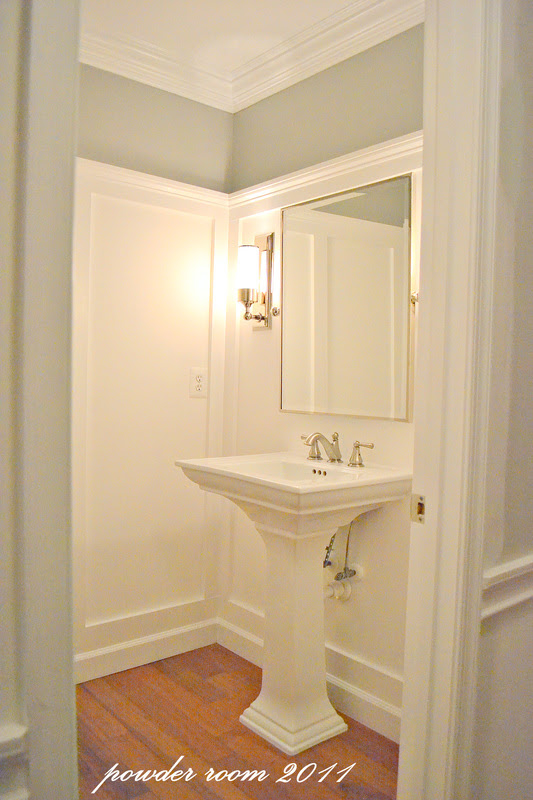 powder room paint color {by request} - sixteen fourteen