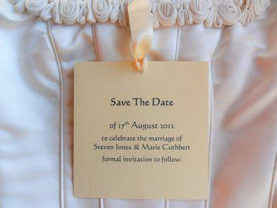 Save The Date Cards from 60p each, Cheap Save the Date