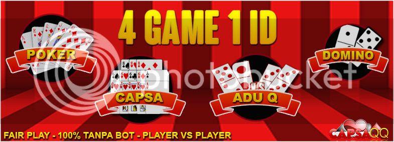 Domino KiuKiu Poker dan Capsa Susun Online Uang Asli