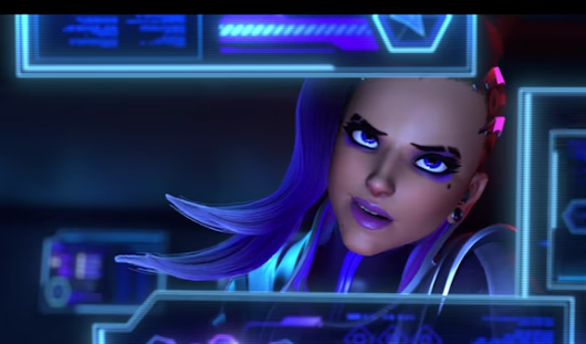 Off course Blizzard revealed Sombra today…