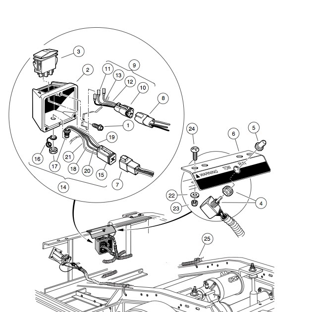 Wiring Diagram For 2007 Ez Go Golf Cart