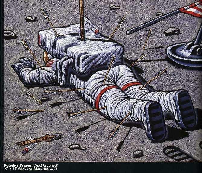 "Newspaper Rock: ""Dead Astronaut"" by Douglas Fraser"