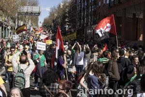 Madrid, 22 de marzo de 2014. Foto: AraInfo