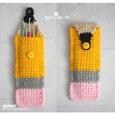 Crochet Pencil Pouch