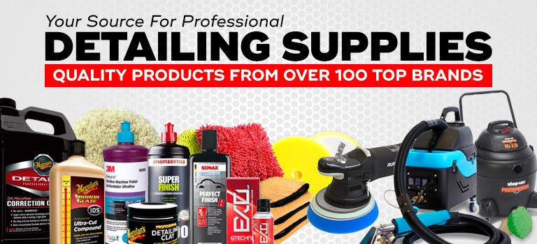 Professional Car Interior Detailing Products