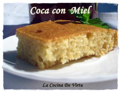 recetA THERMOMIX coca con miel