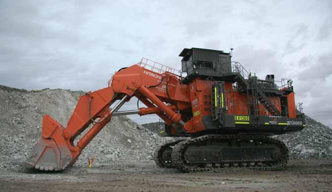 Handover At Mt Keith Nickel For Hitachi S Biggest Excavator