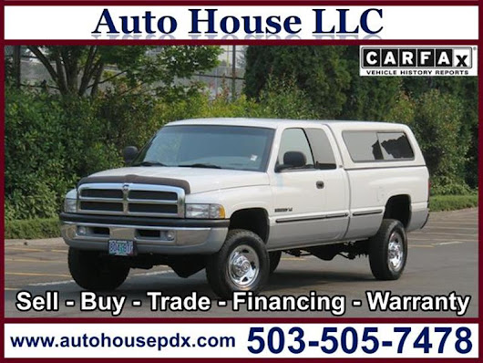 1998 Dodge Ram Pickup 2500 - Auto House LLC - Used Car Dealership - Portland OR