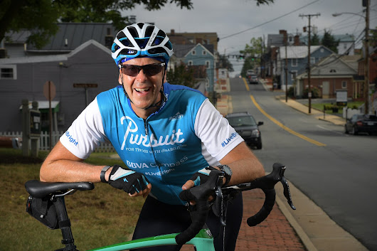 A cross-country bike ride raises millions for people with disabilities