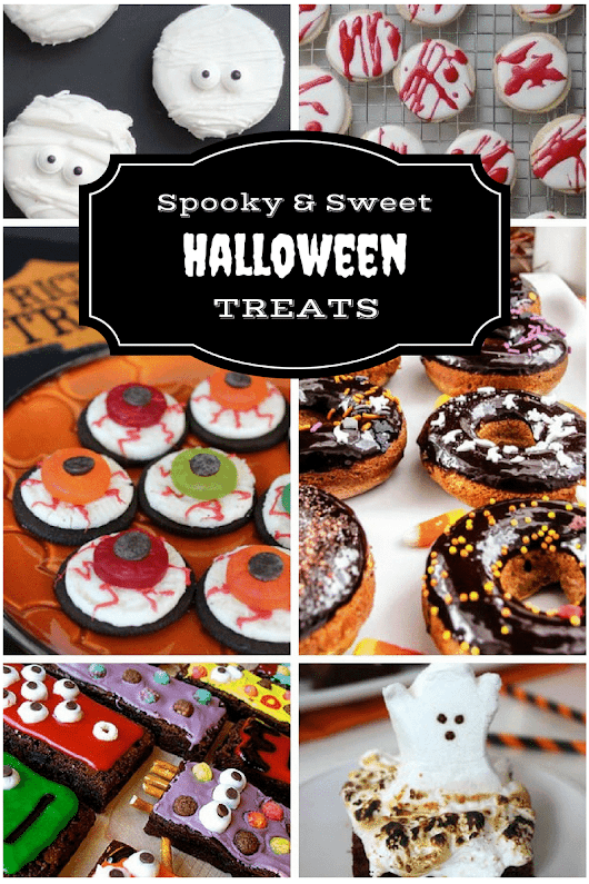 Spooky & Sweet Halloween Treats - 10 Halloween Recipes