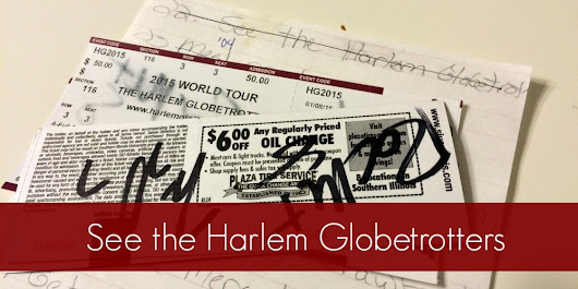7th Grade Life List: 22. See the Harlem Globetrotters