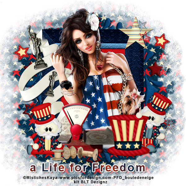 a life for freedom