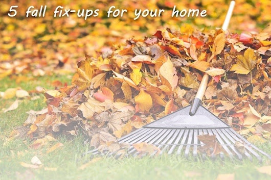 5 Fall Fix-Ups for your Home - POCO Building Supplies