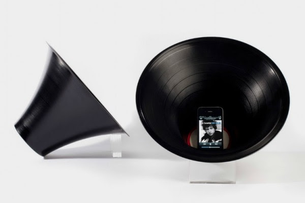 22 Decorative Objects Ideas Using Old Vinyl Records