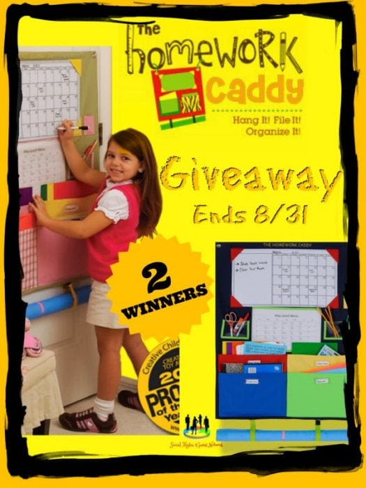 The Homework Caddy Giveaway | Heartbeats~ Soul Stains