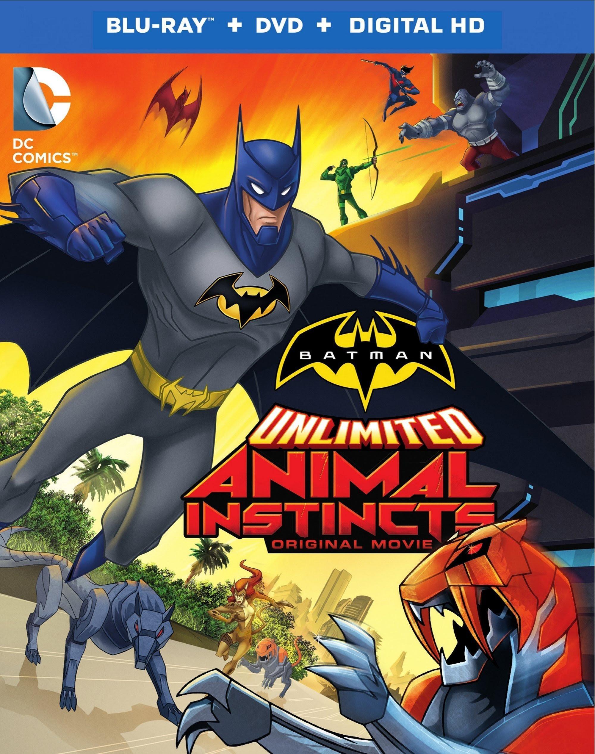 Batman Sem Limites: Instintos Animais   Dublado Download