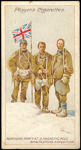 South Magnetic Pole, Shackleton's Expedition