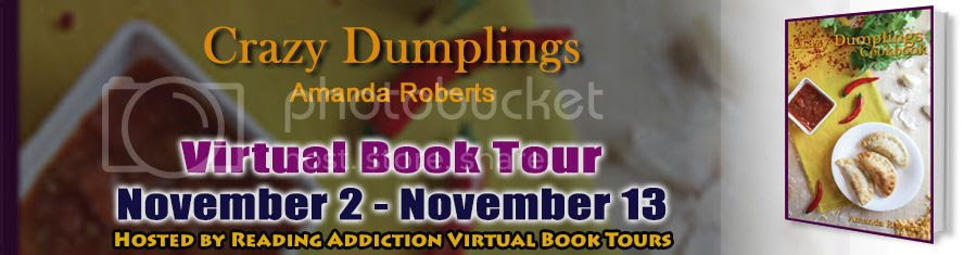 crazy dumplings blog tour banner