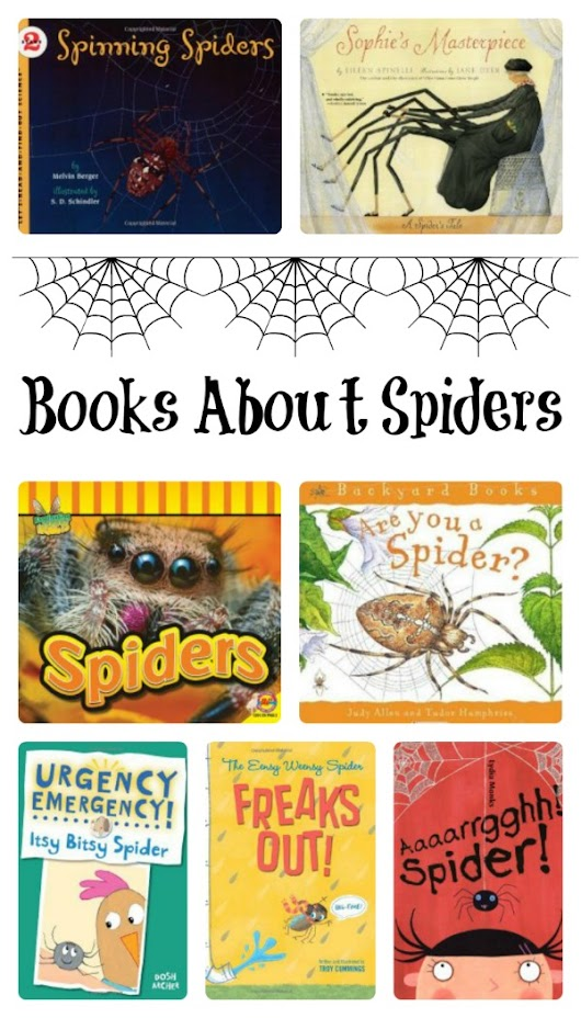 Spider Books for Kids - Fantastic Fun & Learning