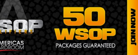 Americas Cardroom WSOP Main Event Qualifier - 50 Seats GTD