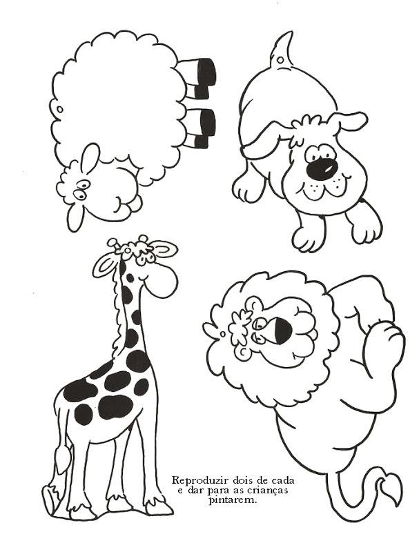 Dibujos De Animales Del Arca De Noe Para Colorear Imagesacolorier