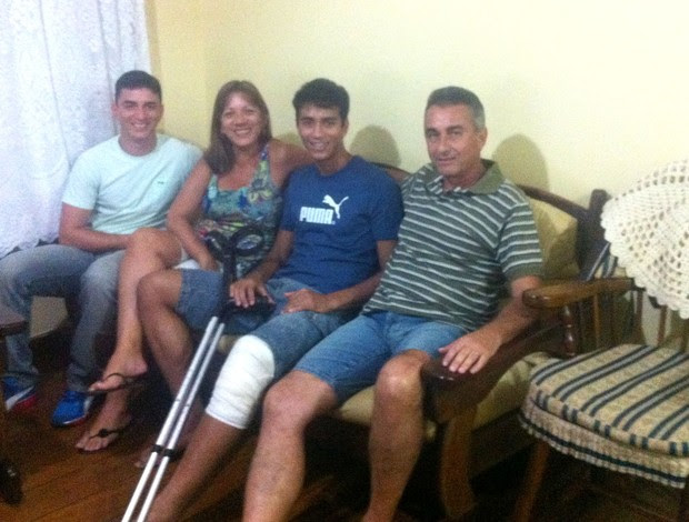 Lucas Zen e Familia (Foto: Divulgação)