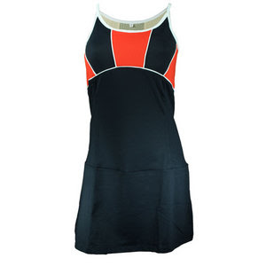 WOMENS DRESS WITH COMPRESSION BRA